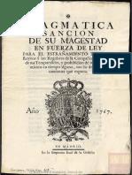Copia de La Pragmática Sanción de Carlos III