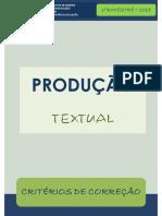 Criterios Producao Textual 1bim 2018