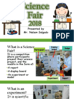 Science Fair Orientation