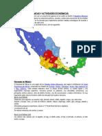 1.6.1. Zonas Económicas de México