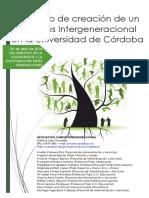 Proyecto de creación de un Campus Intergeneracional en la Universidad de Córdoba