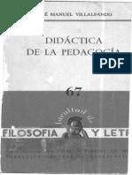 67_J_M_Villalpando_Didactica_de_la_Pedagogia_1965.pdf
