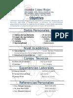 Alexander Curriculum.doc