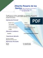 Albarito Rosario de los.docx
