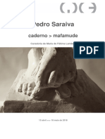 Pedro Saraiva Caderno Mafamude