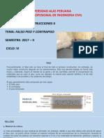 1.Falso Piso y Contrapiso 2017