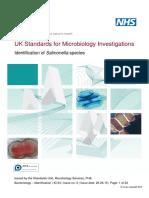 Identification of Salmonella Species