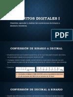 1.2.2 Conversion de Cantidades Binarias