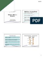 Clase 1 Parte II Sistema Sensitivo y Motor