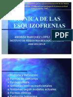 Esquizofrenias Clinica