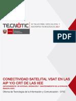 Conectividad Satelital Vsat en Las Aip