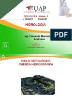 1 Ciclo Hidrologico-cuenca Hidrografica
