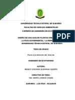 tesis sobre caracterización de plantas ornamentales