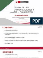 Vision de Las Tele y Tic Dgraic - Huaraz 09.2017