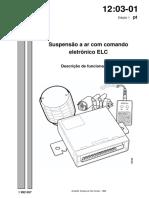 12 Suspensão a Ar Com Comando Eletronico Elc Descrição de Funcionameto Scania s4