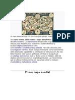 Sextante Carta Celeste y Primer Mapa