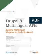 Lingotek eBook Drupal 8 Multilingual APIs 2017