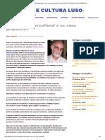 A Filosofia Intercultural e Os Seus Propósitos