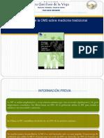 Medicina Tradicional y El Sistema de Salud (1)