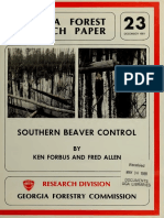 Southern Beaver Control