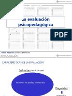 La evaluación psicopedagógica.ppt