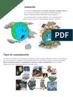 El Concepto de Contaminación