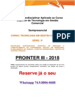 Prointer III 2018 - Tecnologia Em Gestão Comercial