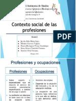 Contexto Social de Las Profesiones - Presentaciòn