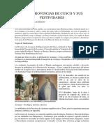 LAS 13 PROVINCIAS DE CUSCO Y SUS FESTIVIDADES.docx