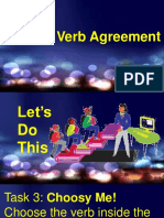 Engl q1w8d4 Subject-Verb Agreement