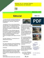 EL  BOLETIN  edición   N°  27  setiembre    AÑO  2010