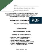 Modulo de Comunicación - Final-2011
