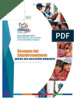 Manual Cobertura Empadronamiento - Jefes Seccion Urbano