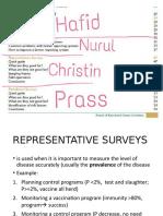 [PR]Representative Survey