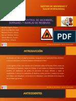 Prevención y Control de Incendios