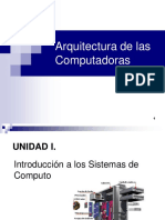 Arquitectura de las computadoras