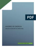 Ahorro de Energia Combustibles