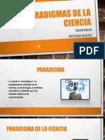 Paradigmas de La Ciencia