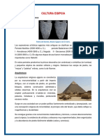 Cultura Egipcia