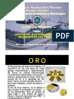 Desorcion Electrodeposicion y Refinacion de Oro y Plata