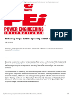 Technology for Gas Turbines Operating in Harsh Environments - Power Engineering International