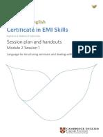 CE 3890 5Y10 D EMI Skills Seminar Materials M2 S1 w