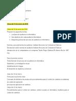 Auditoría PED Clase Fecha 12 de Enero 2018