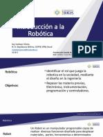 2018-3 Robótica Sesion 1