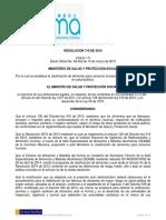 Resolucion Minsaludps 0719 2015