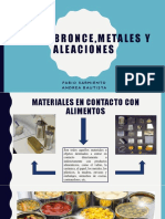 Cobre,Bronce,Metales y Aleaciones