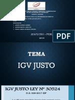 Igv Justo