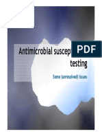 Susceptibility Testing Issues (Web)