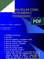 Lic. Daniel Loizzo La Cocina Solar Como Instrumento Pedagogico