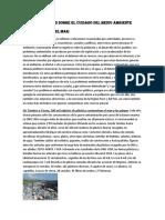 Asuntos Publicos Sobre El Cuidado Del Medio Ambiente